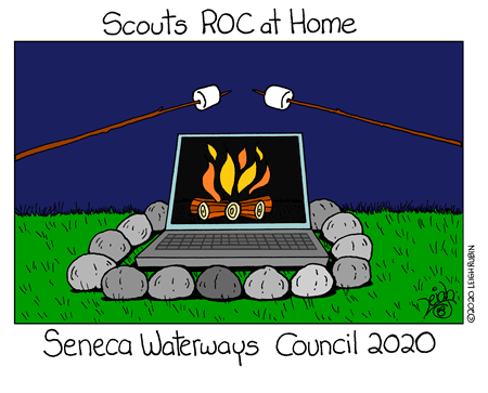 Scouts ROC at Home
