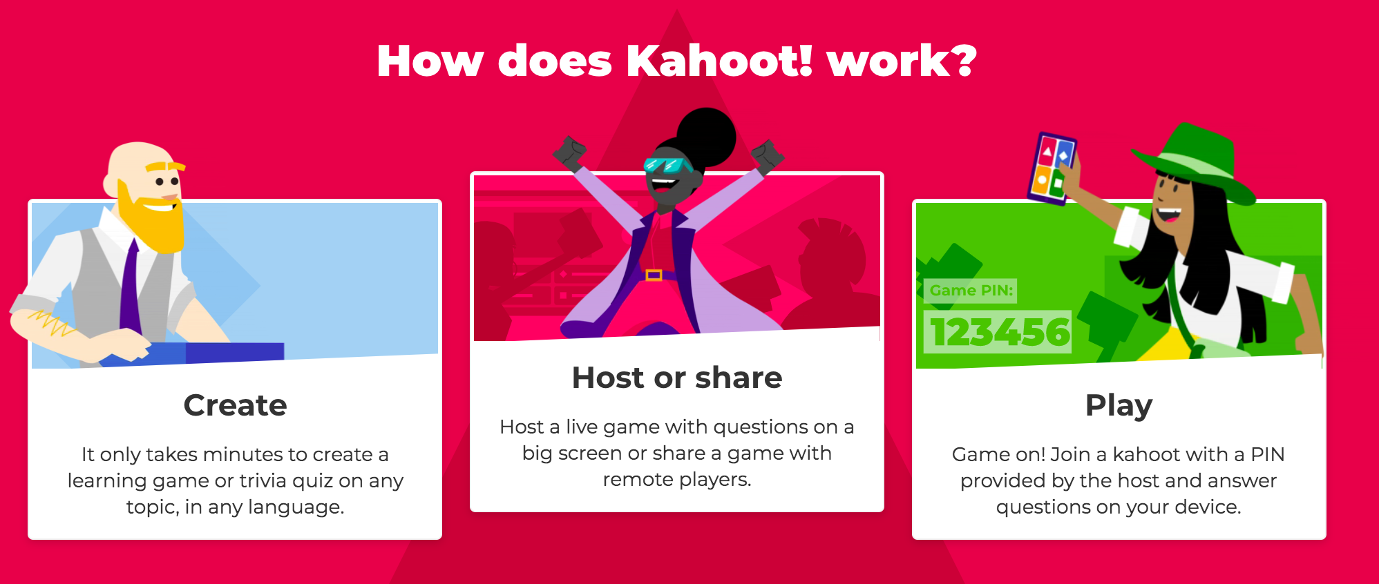 Kahoot A Great Online Fun And Learning Activity Scout Share Where New Adventure Starts